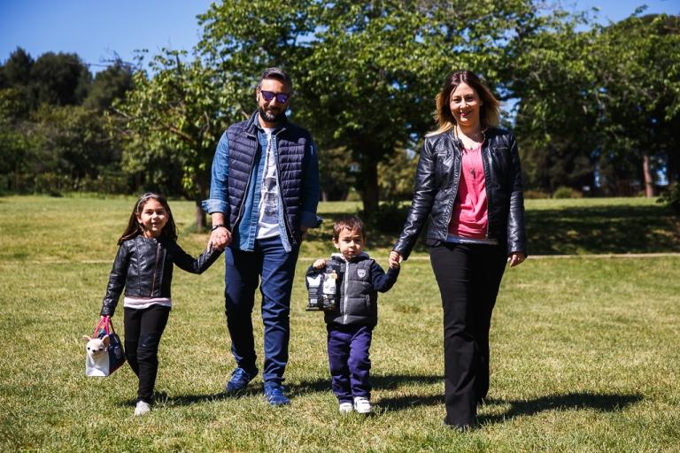Servizio fotografico Famiglia - Villa Pamphili a Roma