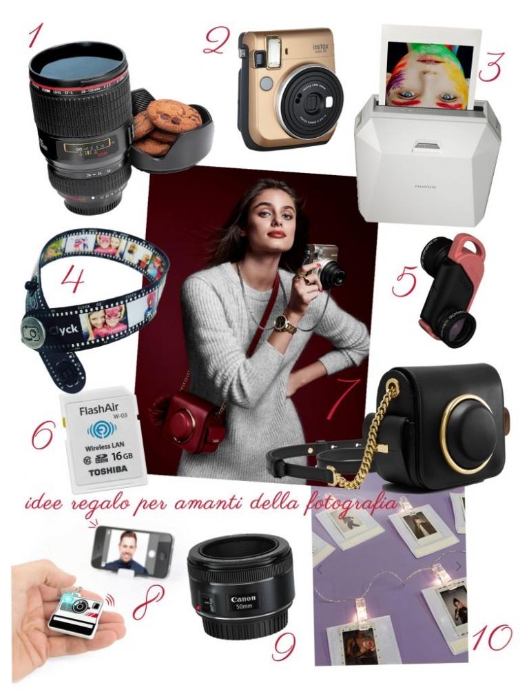 idee regalo per amanti della fotografia