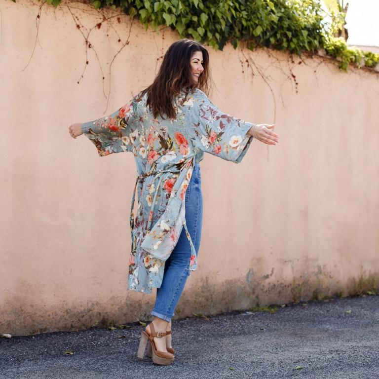 Floral Kimono & Spring