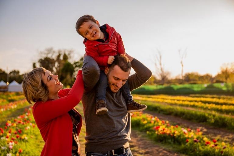 Tulipark in famiglia: i miei scatti per un servizio fotografico