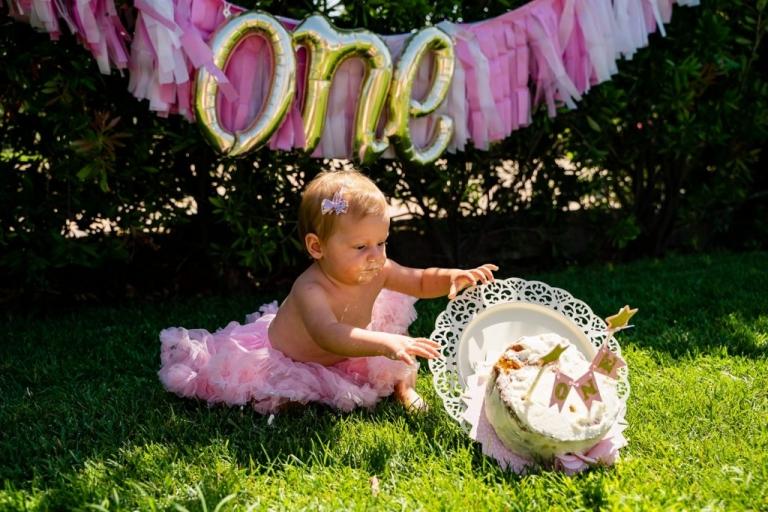 smash cake festa per il primo compleanno 0019 1024x683(pp w768 h512) - Smash Cake all'aperto | Festa per il primo compleanno